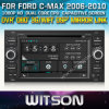 포드 C Max 2006-2010년 Car를 위한 Witson Car DVD DVD GPS 1080P DSP Capactive Screen WiFi 3G Front DVR Camera