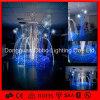 Luz blanca de la fuente del adorno del color 3D de la luz del adorno de la Navidad