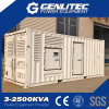 콘테이너 450kw 침묵하는 발전기 563kVA Volvo Penta 발전기