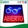 Segno aperto del segno LED del reparto del segno LED del LED Abierto (HAS0015)