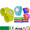 Crhistmas Quartz Colorful Silicone Slap Watch