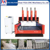 4 unabhängige Spindeln Stein-CNC-Fräser für Marmorgranit-Finanzanzeige