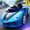 Elektrische Fahrt auf Auto, elektrisches Auto des Kindes, RC Auto