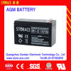 12V 7ah AGM Battery für Toy/Emergency Light Use
