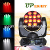 diodo emissor de luz Beam Stage Light de 12*10W RGBW 4in1
