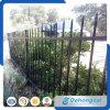 Декоративный гальванизированный сад покрытия порошка /Black загородки ковки чугуна стальной ограждая с панелями утюга