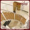 鋼鉄木製アーク階段(DMS-5009)