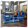 중국 고품질 2 롤 고무 열려있는 섞는 선반 기계