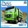 35トン40のトン容量のSinotrukのダンプカートラックはダンプトラックをトラックで運ぶ