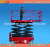 Tabela de elevador hidráulica automotora do trabalho