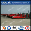 Cimc Huajun (40T LOAD) 14.5m 3axle Lowbed Semi Trailer met Concave Beam