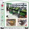 Fördernde Frucht-Gemüse-Bildschirmanzeige-Zahnstangen für Supermarkt