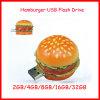 Mecanismo impulsor del flash del USB de la hamburguesa del palillo de la memoria del USB del alimento de memoria Flash