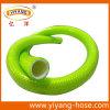 Boyau de jardin vert clair de PVC