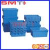 Gebildet Fabrik-Plastikvoorratsbehälter-Kasten-Befestigungs-Kappen-stapelbaren Plastikbehälter im China-Qingdao