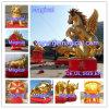 Decorazione di pubblicità dorata gonfiabile del cavallo di bellezza (MIC-301)