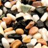 자연적인 자갈 돌 크기: 5mm-80mm Color: 녹색 백색, 까맣고, 노란, 분홍색 빨강
