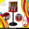 Máquina de Vending dos doces da cabeça triplicar-se da tampa do metal (GV19)