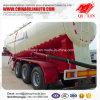 Qilin 3 차축 45cbm 수용량 부피 시멘트 유조 트럭 반 트레일러