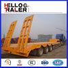 Китай сделал Tri Axle трейлер от 50 до 60 тонн низкий планшетный