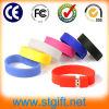 USB Bracelet del silicone con il USB Logo dell'OEM
