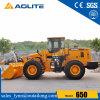 Carregador Zl50 da roda da cubeta da pedra de China de 5 toneladas para a venda