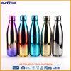 El acero inoxidable modificado para requisitos particulares superventas colorido y Shinny la botella de la bebida de la cerveza