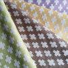 Tela de tapicería cruzada geométrica contemporánea del poliester del telar jacquar