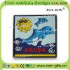 Kundenspezifische Delphin-Andenken-Förderung-Geschenke Belüftung-Kühlraum-Magneten Aruba (RC-AA)