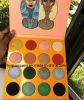 La sombra de ojo hermosa de los colores del lugar 16 del nuevo Juvia mágico de la gama de colores