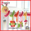 Het dierlijke Zachte Speelgoed van de Baby van de Jonge geitjes van de Klokken van het Bed van de Rammelaar van het Stuk speelgoed van de Klokken van de Hand Ontwikkelings