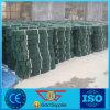 Gebruikt voor Zwarte Kleur HDPE Geperforeerde Geocell van Reiforcment van de Grond van de Bescherming van de Spoeling de Zachte