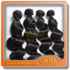 Cheveux humains réels 6A Onda corporelle malaisienne