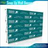 Encajar a presión-para arriba la tela de la pared surgen la visualización de pared portable