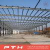 Almacén modificado para requisitos particulares casa prefabricada de la estructura de acero del bajo costo del diseño de Pth
