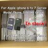 Pour la couverture de silicones de téléphone de la galaxie S8+ S8 de l'iPhone 6 7plus Samsung d'Apple (soyeuse et Doux-toucher le fini) avec le cadre au détail