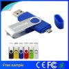 회전대 OTG USB 펜 드라이브를 인쇄하는 자유로운 실크 로고