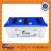La batterie directe 160ah Corée de l'usine 12V a conçu la batterie de voiture d'acide de plomb de Mf JIS de calcium