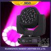 DJ 19 X 15W B 눈 K10 단계 LED 단계 디스코 이동하는 맨 위 빛
