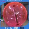 De roze het Lopen van het Water van de Kleur PVC/TPU Opblaasbare Aquatische Bal Zorb van de Bal
