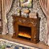Chauffage antique de meubles d'hôtel et cheminée électrique d'éclairage (331)