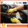 Резиновый желтые перчатки DHL303 латекса домочадца
