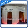Tenda gonfiabile della bolla con la cabina portatile di mostra della fiera commerciale su ordinazione LED delle stanze