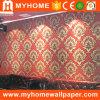 papel pintado italiano moderno del diseño 3D para la sala de estar