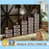 Hot Sale Hotel Living Room Combine-Unit Gabinetes de luxo em couro