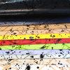 Couro especial do plutônio do efeito da impressão para as sapatas ou os sacos (HS-M108)
