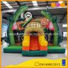 おかしいジャイアントパンダの楽園のスライド(AQ01730)を持つコンボの膨脹可能なパンダの警備員