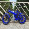 [500و] 20 '' يطوي جبل سمين إطار العجلة درّاجة كهربائيّة لأنّ رجل