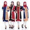 Ткань Abayas оптового круглого Knit шеи мусульманская (A548)