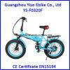 20  batterie cachée électrique de batterie au lithium de *4.0inch 250W 350W pliant le gros vélo de pneu